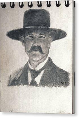Wyatt Canvas Print by Rick Fitzsimons
