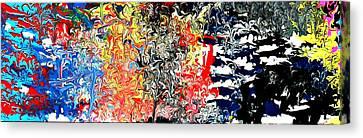 Wyld Cyd Canvas Print by Cyryn Fyrcyd