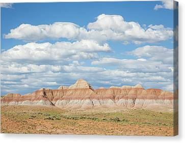 Wyoming, Sublette County, Cloudy Sky Canvas Print