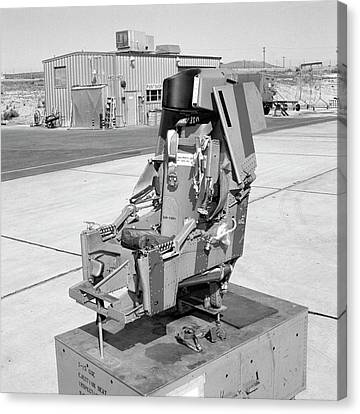 X-15 Aircraft Ejection Seat Canvas Print
