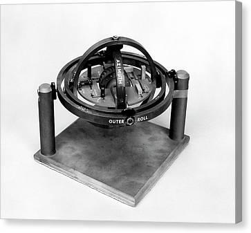 X-15 Aircraft Gyroscope Model Canvas Print by Nasa