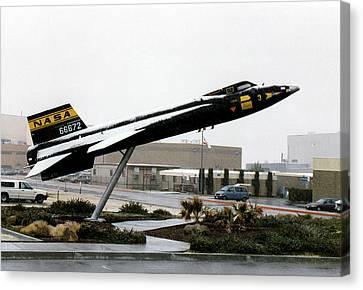 X-15 Aircraft Replica Installation Canvas Print