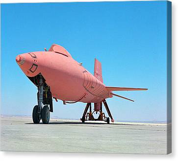 X-15 Aircraft With Ablative Coating Canvas Print