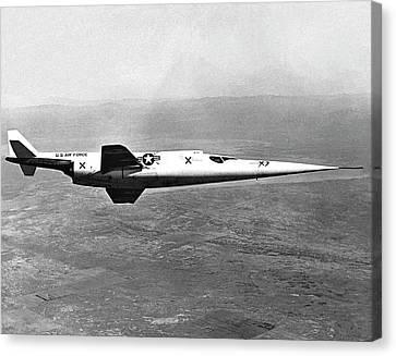 X-3 Stiletto Experimental Aircraft Canvas Print