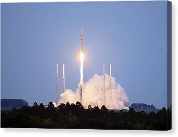 X-37b Orbital Test Vehicle Lifts Off Canvas Print