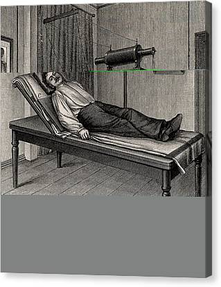 X-ray Of A Patient's Thorax Canvas Print by Universal History Archive/uig