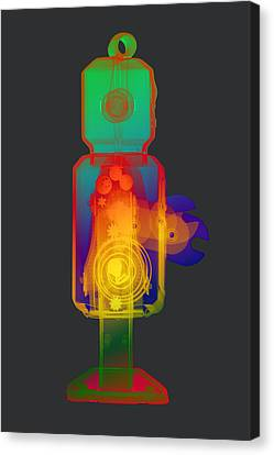 X-ray Robot Rs No.1 Canvas Print by Roy Livingston