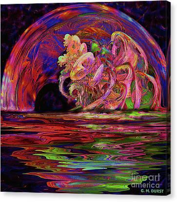 Xanadu Portal Canvas Print by Michael Durst