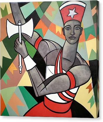 Xango Canvas Print by Marcio Melo