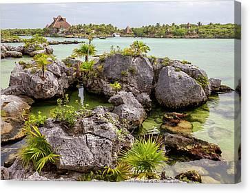 Xel Ha Eco-adventure Park, Playa Del Canvas Print