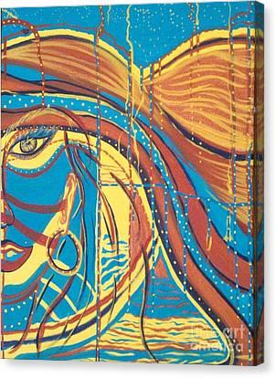 Xenon 1 Canvas Print by Adriana Garces