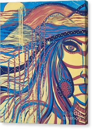 Xenon 2 Canvas Print by Adriana Garces
