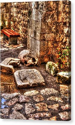 Canvas Print featuring the photograph Stones That Don't Lie - Israel by Doc Braham