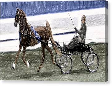 2008 World Champions Canvas Print - Xive - World Championship Horse Show - Louisville Ky by Thia Stover