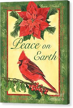 Berry Canvas Print - Xmas Around The World 1 by Debbie DeWitt
