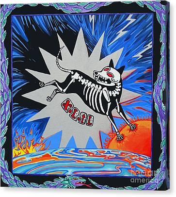 Xolotl Canvas Print by Lori Ziemba