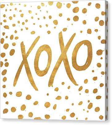 Xoxo Canvas Print by Patricia Pinto