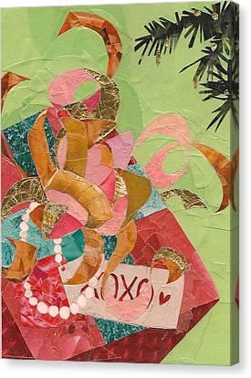 Xoxo Canvas Print by Robin Birrell