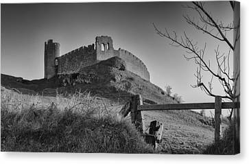 Roche Castle Canvas Print by Pro Shutterblade