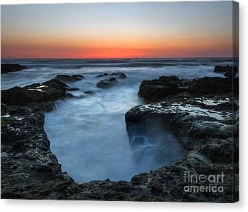 Yachats Sunset Canvas Print
