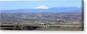 Yakima Valley Panorama Canvas Print by Carol Groenen