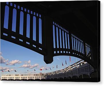 Yankee Stadium Facade Canvas Print