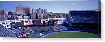 Yankee Stadium Canvas Print - Yankee Stadium Ny Usa by Panoramic Images