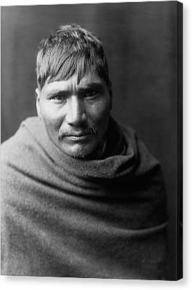 Indigenous Canvas Print - Yaqui Man Circa 1907 by Aged Pixel
