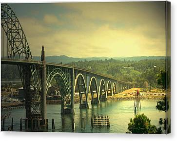 Yaquina Bay Bridge Or Canvas Print