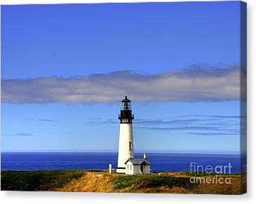 Yaquina Head Light   2 Canvas Print