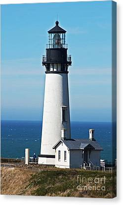 Yaquina Head Light Eight Canvas Print