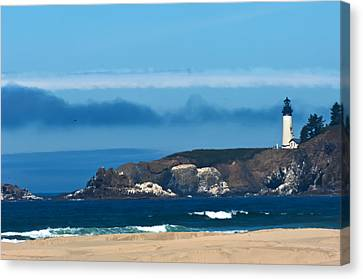 Yaquina Head Light Canvas Print