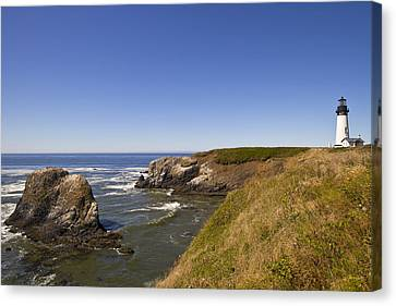 Yaquina Head Lighthouse 4 Canvas Print