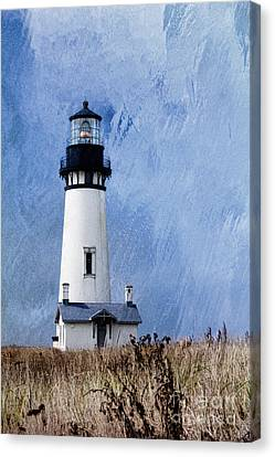 Nosyreva Canvas Print - Yaquina Lighthouse by Elena Nosyreva