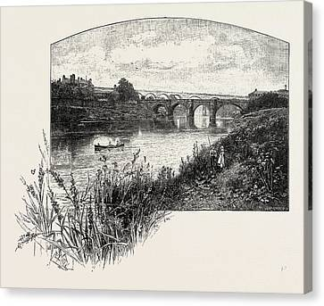 Yarm Is A Small Town And Civil Parish In The Unitary Canvas Print by English School