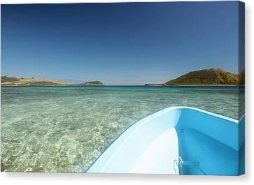 Yasawa, Fiji, South Pacific Canvas Print by Michael Runkel