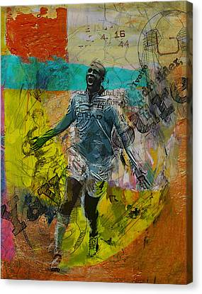 Yaya Toure - B Canvas Print by Corporate Art Task Force