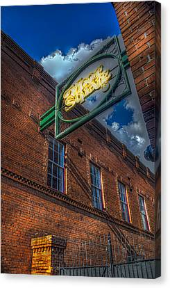 Ybor Square Canvas Print by Marvin Spates