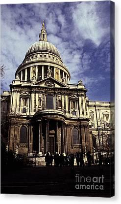 Ye Olde Church London Canvas Print by Ryan Fox