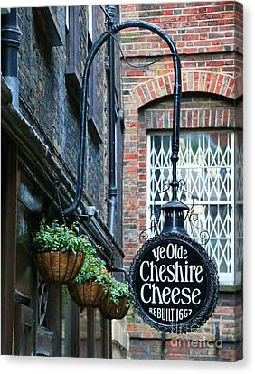 Ye Olde Cheshire Cheese Pub Canvas Print by Jack Schultz