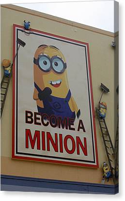 Year Of The Minions Canvas Print by David Nicholls
