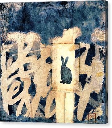 Year Of The Rabbit No. 3 Canvas Print by Carol Leigh