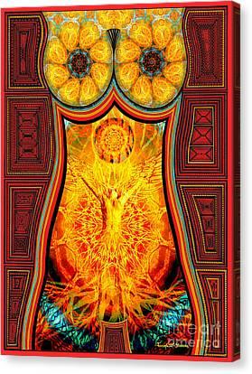 Yearning-spirit Rising Canvas Print