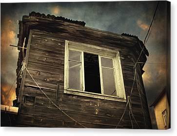 Years Of Decay Canvas Print by Taylan Apukovska