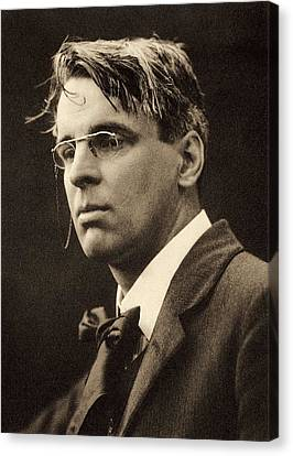 Yeats, William Butler 1865-1939. � Canvas Print by Everett