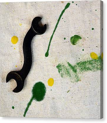 Yellow # 5 Canvas Print by Tom Druin
