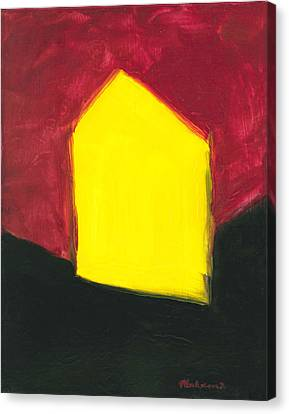 Yellow Arthouse Canvas Print
