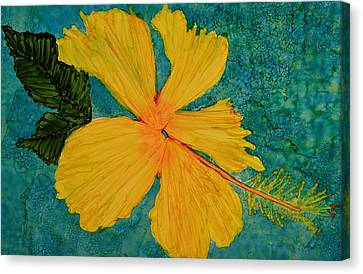 Yellow Beauty Canvas Print by Linda Brown