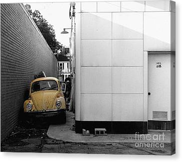 Yellow Bug Canvas Print by   Joe Beasley