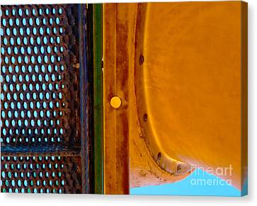 Canvas Print featuring the photograph Yellow Dot by Lena Wilhite
